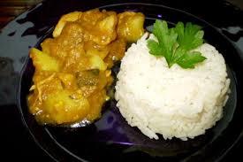 cuisine antillaise colombo de poulet colombo de poulet riz blanc 41000 blois