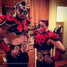 Warriors Halloween Costume Halloween Swim Muscle