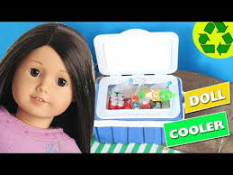 diy realistic american barbie mh doll cooler simplekidscrafts
