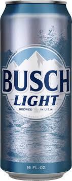 busch light nutrition facts busch light beer 6 pk 16 fl oz cans walmart com