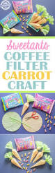 sweetarts carrot easter coffee filter craft kids activities blog