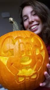 how we created our vampire mickey pumpkin jack o lantern