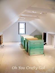 attic ideas oh you crafty gal attic renovation dream craft and sewing room