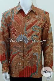 Toko Batik Danar Hadi sedia kemeja batik tulis premium baju batik pria lengan