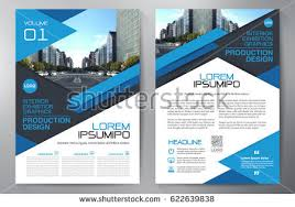 design flyer business brochure flyer design leaflets a4 stock vector 622639838