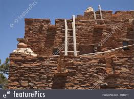 Pueblo Adobe Houses by Historical Architecture Adobe House Stock Photo I2883711 At