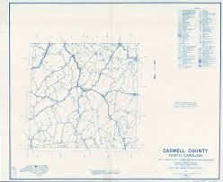 North Carolina Counties Map Caswell County Maps