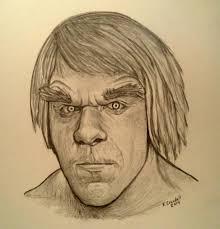 incredible hulk lou ferrigno drawing aftcra
