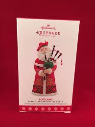 hallmark santas around the world scotland ornament koc member 2017