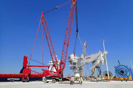 Crane Storage Mobilization And Installation For Offshore