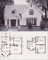 antique home plans the carlyle storybook revival vintage house plans of the 1920s