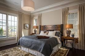 Rustic Bedroom Design Ideas Bedrooms Rustic Bedroom With Dark Grey Bed And Rustic Wooden