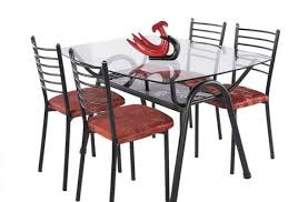 wrought iron dining table glass top wrought iron dining table elegant glass top foter pertaining to 4