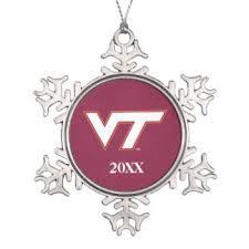 virginia tech ornaments keepsake ornaments zazzle