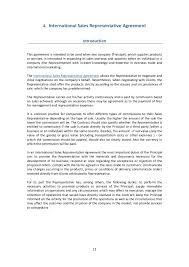 commission sales contract template eliolera com