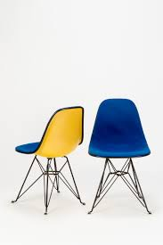 paar eames side chair dsr eiffel base okay art