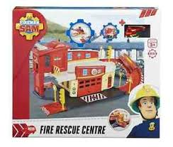 fireman sam fire station die cast playset ebay