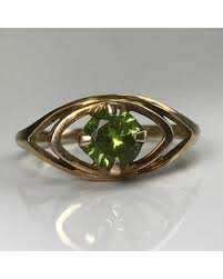birthstone engagement rings amazing shopping savings on vintage peridot ring 10k