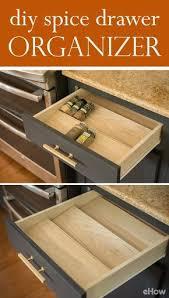 Wood Desk Drawer Organizer Best 25 Spice Drawer Organizer Ideas On Pinterest Home Depot