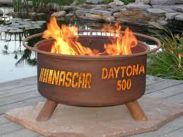 fire pit poker patina products nascar daytona 500 steel charcoal fire pit