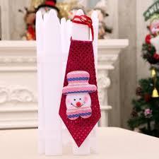 hanging decorations led lights paillette neck tie 4