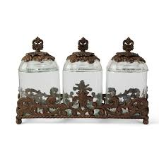 brown canister sets kitchen tggc acanthus 3 kitchen canister set reviews wayfair