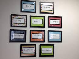 profile wall decorating my principal u0027s office principal