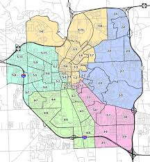 Dallas City Council District Map by Damn Arbor August 2012