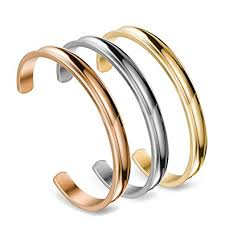 stainless steel cuff bangle bracelet images Zuobao stainless steel bracelet grooved cuff bangle jpg