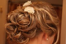 romantic half updo wedding hairstyle for thin hair bride sparkle