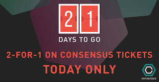 24 hour flash sale on consensus 2015 tickets