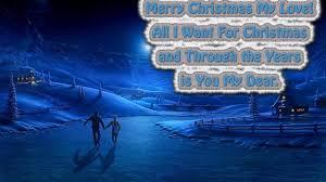 merry christmas love postcard wallpaper