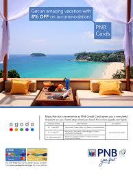 agoda vietnam pnb credit cards home