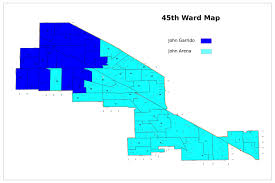 Chicago Wards Map by 45th Ward Race Likely To Be Decided By Local Issues Despite