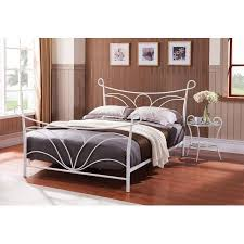 Metal Bed Headboard And Footboard Hammer White Queen Size Metal Bed Headboard Footboard Rails