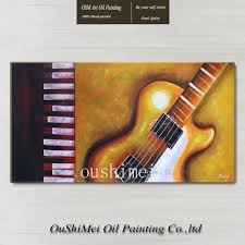 paintings for home decor online get cheap guitar painting aliexpress com alibaba group