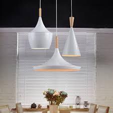 Modern Pendant Light Fixtures Modern Pendant Light Wood Metal L E27 Socket Loft Hanging Light