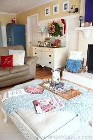 christmas home tour red u0026 teal themed part 3 of 3 artsy
