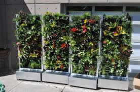 creating a movable and automatic watering system vertical garden