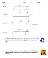 area model multiplication worksheets worksheets