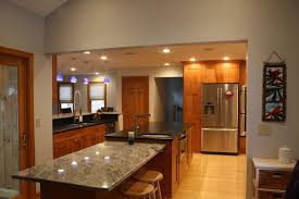 Transitional Kitchen Designs by Transitional Kitchen Beautiful Double Stacked Birch Wood Cabinets