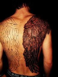 wings back tattoo tattoo collections