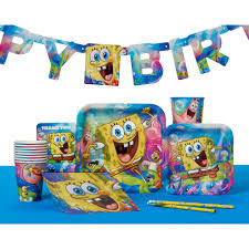 spongebob squarepants spongebob squarepants sticker sheets 8 count party supplies