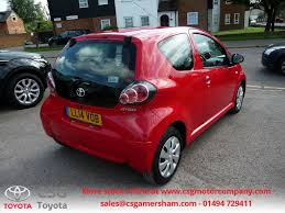 toyota aygo used chilli red toyota aygo for sale buckinghamshire