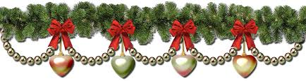 christmas garland christmas garland border transparent happy holidays