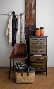 42 best wabi sabi images on pinterest live home and spaces industrial rustic side table with drawers