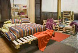 Cool Bed Frames With Storage Bed Frame Made With Xs And Over Pallet Ideas Cheap Recycled Over