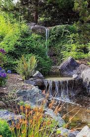 Backyard Waterfall Ideas by 1151 Best Water Falls Streams Images On Pinterest Pond Ideas