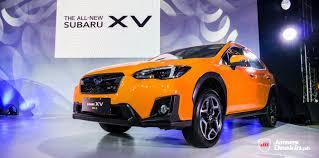 subaru orange the second generation subaru xv finally lands on philippine soil