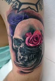 tattoos by alan aldred tattoos skull smokey skull